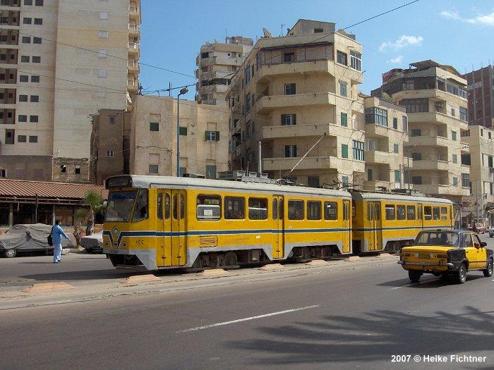 Subarban >> UrbanRail.Net > Africa > Egypt > Alexandria Tramway