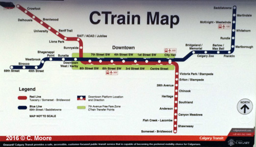 UrbanRail.Net > Canada > Alberta > Calgary Light Rail on
