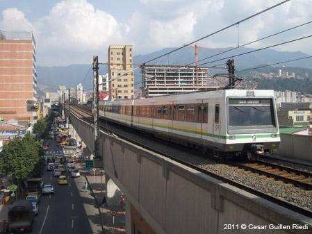 Urbanrail Net Gt South America Gt Colombia Gt Medell 237 N Metro