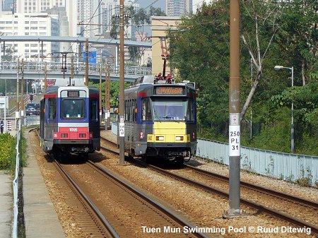 Urbanrail Net Asia Hong Kong Light Rail Tuen Mun