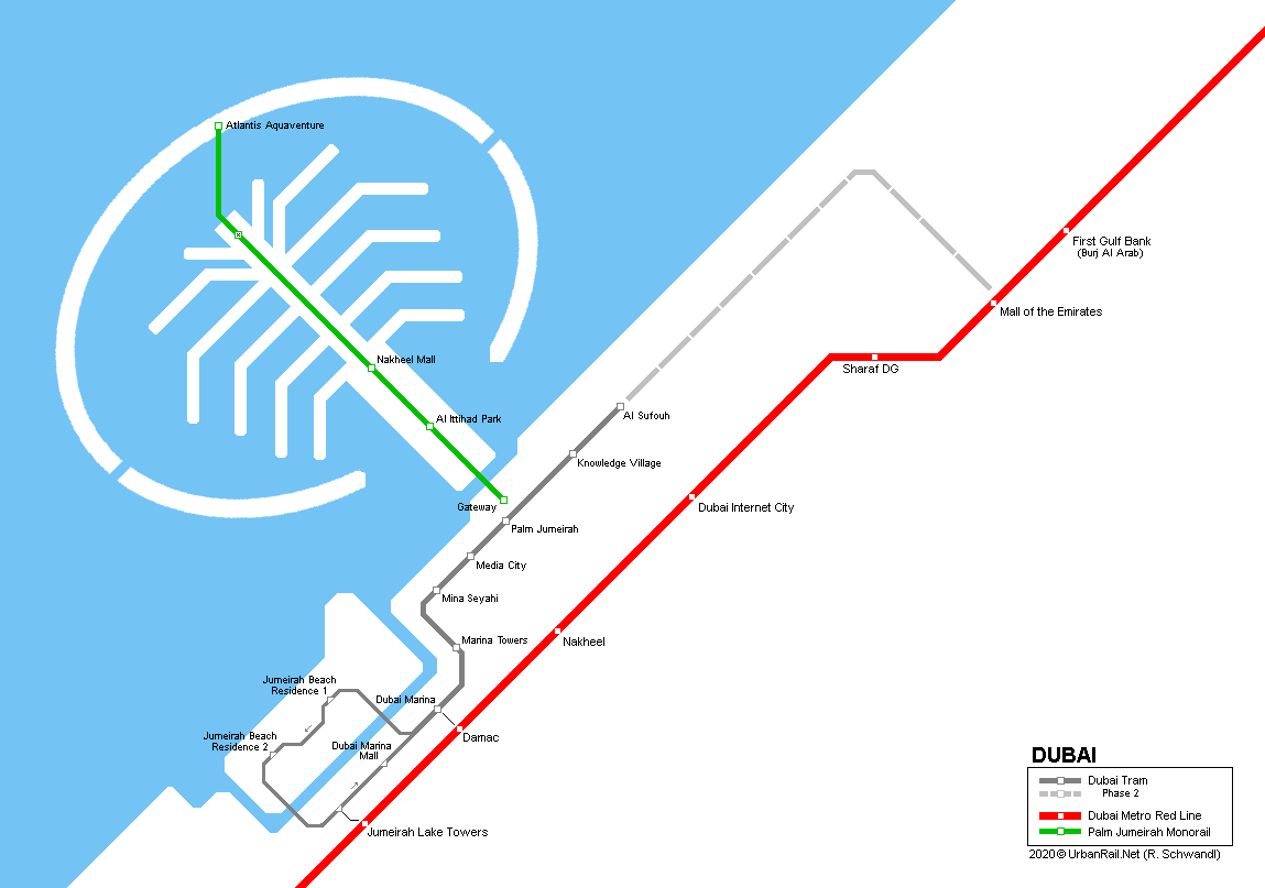 UrbanRail.Net > Asia > U.A.E. > Dubai Tram