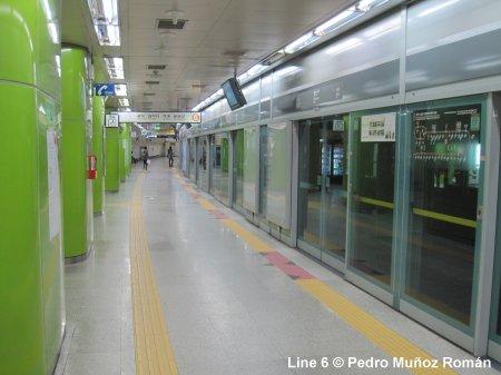 Seoul Subway Map Line 7.Urbanrail Net Asia South Korea Seoul Subway