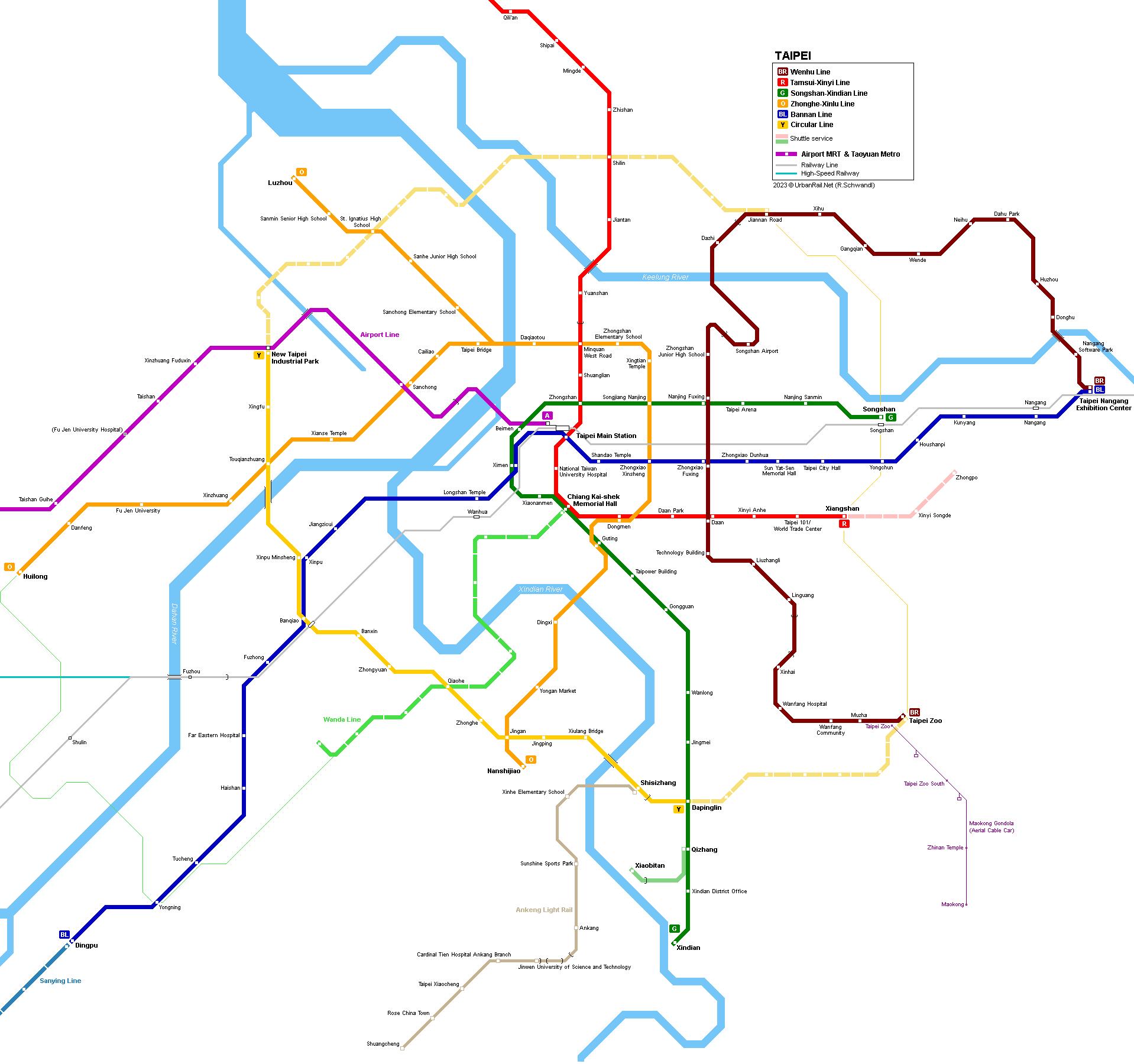Picture of: Urbanrail Net Asia Taiwan Taipei Subway Metro Mrt