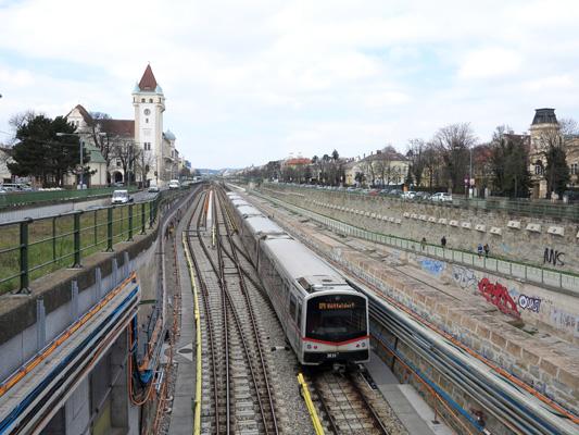Urbanrailnet Europe Austria Wien Vienna U Bahn U4