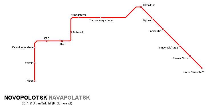 Urbanrail Net Gt Europe Gt Belarus Gt Novopolotsk