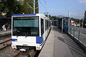 UrbanRail.Net > Europe > Switzerland > LAUSANNE Métro