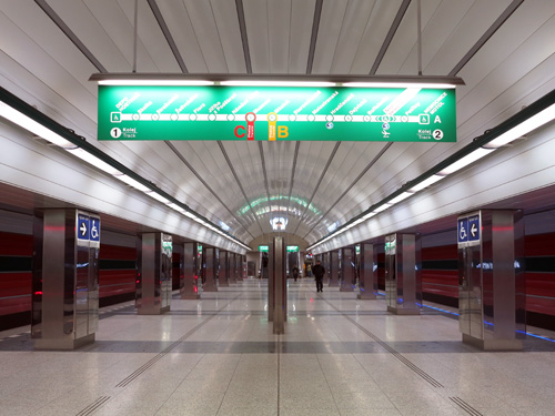 Prague Subway Mapinfo.Urbanrail Net Europe Czech Republic Prague Praha Metro