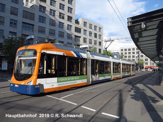 UrbanRail Net > Europe > Germany > Mannheim Straßenbahn (Tram)