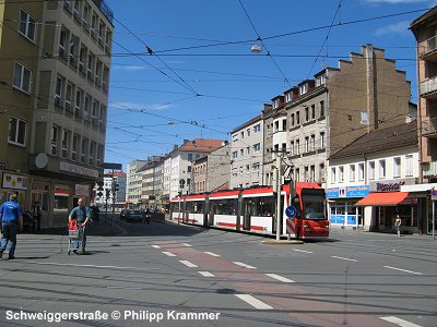 urbanrail net europe germany nuremberg tram n rnberg stra enbahn. Black Bedroom Furniture Sets. Home Design Ideas