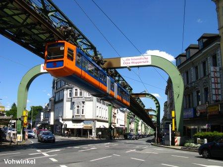UrbanRailNet Europe Germany Wuppertal Schwebebahn suspension