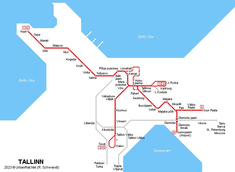 Urbanrail europe estonia tallinn tram tallinn tram map r schwandl gumiabroncs Choice Image