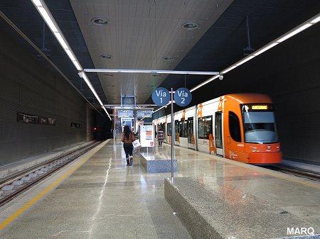 Аликанте аэропорт трамвай