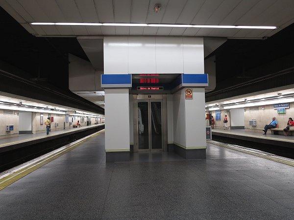 Urbanrail net madrid metro l nea 6 circular for Piscina sainz de baranda