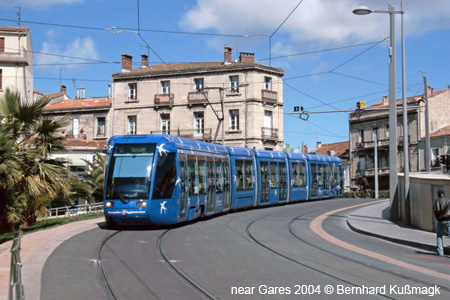 Montpellier Tram Line Montpellier Tram Montpellier