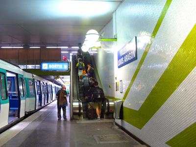 paris italie en train