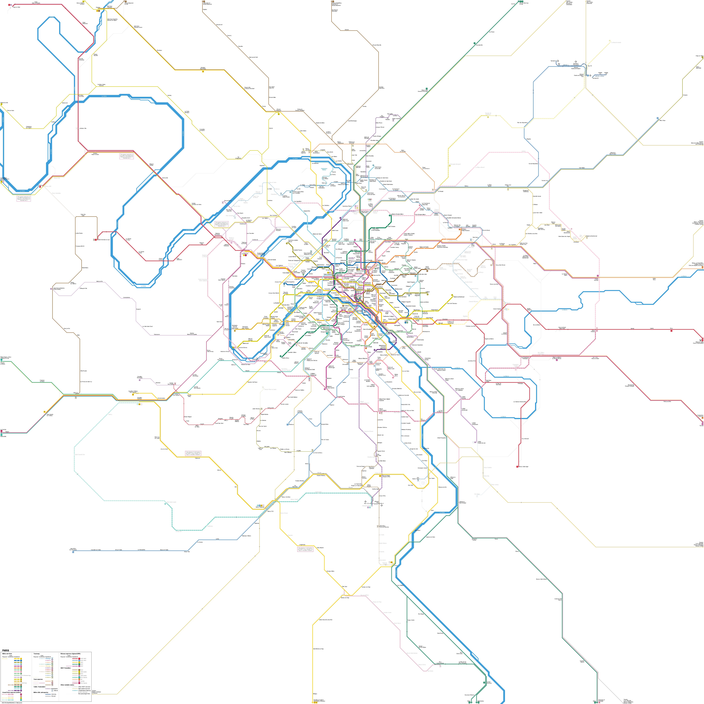 Urbanrail Net Europe France Metro De Paris Paris Subway