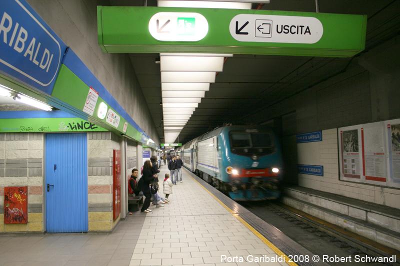 Urbanrail net europe italy metropolitana di milano - Passante ferroviario porta garibaldi ...