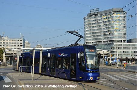 Urbanrail Net Gt Europe Gt Poland Gt Lower Silesia Gt Wroclaw Tram