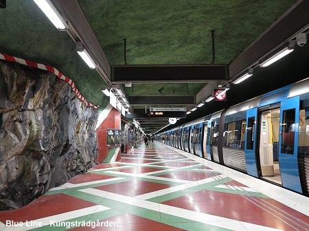 tunnelbanan stockholm gröna linjen