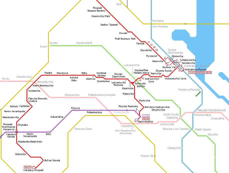 Urbanrail Net Europe Ukraine Kyiv Kiev Tram